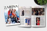 Новогодний выпуск журнала бренда ZARINA