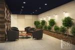 Дизайн зоны отдыха актового зала учебного заведения