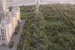 3д визуализация гостиница Киев для локации съемки