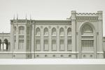 3d модель  особняка Морозовых