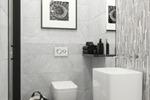 3d визуализация санузла в современном стиле
