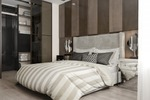 3д визуализация спальни в современном стиле