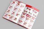 Макет буклета для сети магазинов мясной продукции