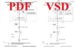 Перевод схемы из формата PDF в VSD (Visio)