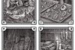 Иллюстрации для обложки книги правил одной из фэнтезийных РПГ