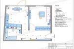 """Планировка 1-комнатной квартиры в ЖК """"Николин парк"""""""