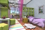 Дизайн проект детской в 3х-к кв. г. Новосибирск
