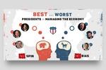 Создание баннера - Кто лучше из президентов США?