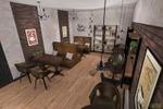 Дизайн проект мини кофейни г.Владимир