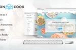 Шаблон кулинарного магазина для Themeforest