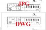 Перевод плана здания из формата JPG в DWG (AutoCAD)