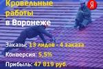 Кровельные работы в Воронеже