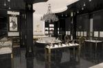 Дубай (ОАЭ) ювелирный бутик премиум класса (зал)