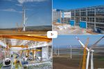 Аэровидеосъемка производства и ветряков для Росатома