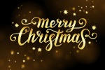 рождественская каллиграфия