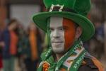 На ирландском параде...