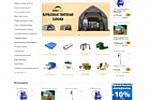 Редизайн торговой площадки tenti.ru