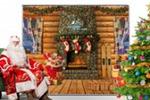 Press wall для Деда Мороза