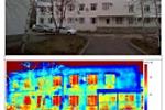 Тепловизионные съёмки и замеры сопротивления теплопередаче стены