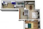 Чертеж комнаты в 3Д