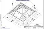 Проект зенитного фонаря в форме пирамиды. Раздел КМ.