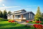 Визуализация бревенчатых домов