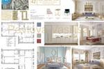 Квартира в классическом стиле, 180 м2