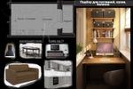 Дизайн-проект 2-комнатной квартиры, Королев