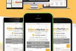 Адаптивный дизайн и верстка интернет-магазина www.alberomarket.