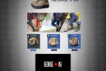 Макет сайта по продаже обуви