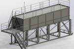 Емкость технологическая на эстакаде 50 м. куб.