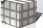 Бак для технической воды на 10 м. куб.