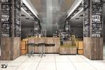 Дизайн-проект кофейни г.Брянск, стиль#loft#industrial#винтаж#