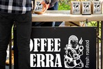 """Разработка стаканчиков для кофе магазина """"COFFEE TERRA"""""""