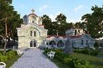 Проект и визуализация храмового комплекса