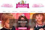 Сайт для «Fairyland» Английский для Юных Волшебниц и Принцесс