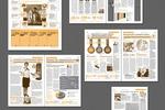 Газета ПФР России, дизайн и верстка