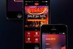 Дизайн мобильного приложения Vegas