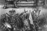 Иллюстрация битвы ( для одной из ММОРПГ)