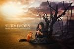 Survivors (Digital art photo manipulation)