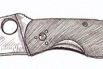 Ножи line-art