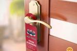 макет дорхенгера (листовки / таблички на дверь)