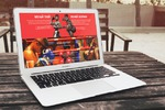 """Создание сайта федерации таиландского бокса """"Файтер"""""""