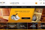 Редизайн сайта saunavam.ru