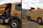 Моделирование кузова и замена кузова для эвакуатора