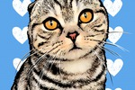 Поп-арт котик