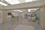 дизайн интерьера клиники (холл ресепшн)