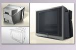 Телевизор с сабвуфером СRYSTAL(2007г.)