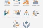 Иконки для Академии новой экономики и права