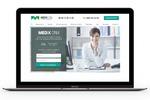 Корпоративный сайт для системы автоматизации клиник Medix CRM